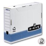 Бокс для архивации документов Fellowes R-Kive Prima, 80мм, синий