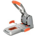 Дырокол Rapid HDC 150 листов серебряный/оранжевый (23000600)