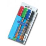 Набор из 4-х маркеров для бумаги для флипчарата Granit 160, блистер