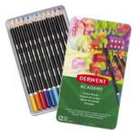 Набор цветных карандашей Derwent Academy™ Colour Pencil tin 12 шт (2301937)