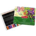 Набор цветных карандашей Derwent Academy™ Colour Pencil tin 24 шт (2301938)