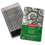 Набор чернографитных карандашей Derwent Academy™ Sketching Tin 12 шт 6B-5H (2301946)