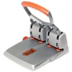 Дырокол Rapid HDC 150 листов серебряный/оранжевый (23223100)