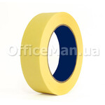 Скотч малярный OfficeMan, 25 мм, 50 м, желтый