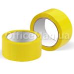 Скотч упаковочный OfficeMan 48 мм, 40 м, 40 мк, желтый