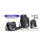 Комплект ZiBi Football: рюкзак, сумка для обуви, пенал, + подарок