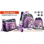 Комплект ZiBi Rock Party: рюкзак, сумка для обуви, пенал, + подарок