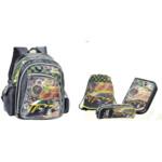 Комплект ZiBi Speed and Passion: рюкзак, сумка для обуви, пенал, + подарок