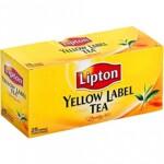 Чай черный Lipton Yellow Label, 25 пакетиков х 2г