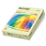 Цветная бумага Maestro Color Pastell GN27, Green (с/зел), А4, 160 г/м2, 250 л (АН1188)