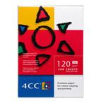 Бумага для цветной лазерной печати 4СС, A4, 120 г/м2, 500 л (АФ1015)
