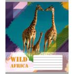 Тетрадь ученическая Мрії Збуваються Животные Африки, 18 л, линия (TA5.1821.2428л)