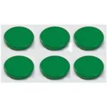 Магниты Dahle, 24 мм, 6 шт, зеленый (7010312)