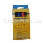 Набор маркеров для сухостираемых досок Magnetoplan, 1,5-3 мм, 4 цвета
