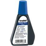 Штемпельная краска Trodat 7011, 28 мл, синий
