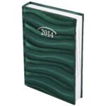 Ежедневник датированный карманный Brunnen Ocean, зеленый, 2020 г