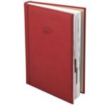 Ежедневник датированный карманный Brunnen Torino, красный, 2020 г
