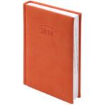Ежедневник датированный карманный Brunnen Torino, оранжевый, 2020 г