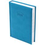 Ежедневник датированный карманный Brunnen Torino, бирюзовый, 2020 г