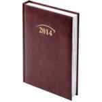 Ежедневник датированный карманный Brunnen Miradur, бордовый, 2020 г