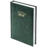 Ежедневник датированный карманный Brunnen Miradur, зеленый, 2020 г