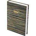 Ежедневник датированный карманный Brunnen Spirit, зелено-черный, 2020 г
