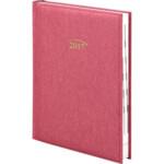 Ежедневник датированный Brunnen Стандарт Denim, красный, А5, 2020 г