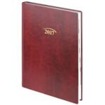 Ежедневник датированный Brunnen Стандарт Flex, бордовый, А5, 2020 г