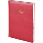 Ежедневник датированный Brunnen Стандарт Lizard, красный, А5, 2020 г