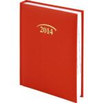 Ежедневник датированный Brunnen Стандарт Joy, красный, 2020 г