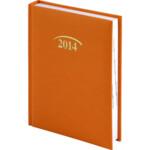 Ежедневник датированный Brunnen Стандарт Joy, оранжевый, 2020 г