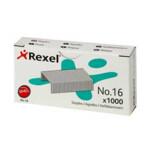 Скобы для степлера Rexel №16 (24/6), 25 л, 1000 шт