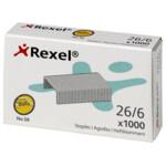Скобы для степлера Rexel №56 (26/6), 20 л, 2000 шт