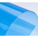 Обложки пластиковые D&A, прозрач, синий, А4, 180 мкн, 100 шт (1220102020200)