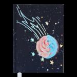 Ежедневник недатированный Buromax SWEET А5 фиолетовый 288 с (BM.2037-07)