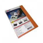 Обложки картонные Agent, под кожу, оранжевые, А4, 230 г/м2, 100 шт (1521206)