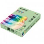 Цветная бумага Maestro Color Intensive LG46, Lime Green (насыщенный лайм), А4, 160 г/м2, 250 л (АН1187)