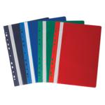 Скоросшиватель пластиковый Buromax Professionall, А4, 11 отв, ассорти (BM.3331-99)