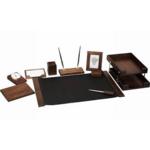 Набор настольный деревянный Bestar, 10 предметов, орех (0259XDX)