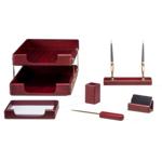 Набор настольный деревянный Bestar, 6 предметов, красное дерево (6280WDM)