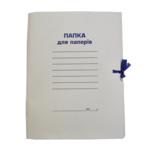 Папка на завязках картонная Buromax, А4, цельнокройная (BM.3357)