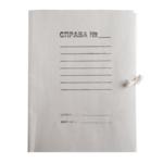 Папка на завязках картонная Buromax JobMax, А4, клееный клапан (BM.3359)