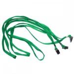 Шнурок для беджей Agent D002, 50 шт, зеленый (3420378)