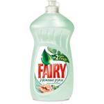 Средство для мытья посуды Fairy Нежные руки  Чайное дерево и мята, 500 мл