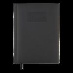 Ежедневник датированный 2022 Buromax GENTLE А5 черный 336 с (BM.2109-01)