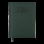 Ежедневник датированный 2021 Buromax Gentle (Torino) А5 с обложкой из искусственной кожи 336 с. L2U Зеленый (BM.2109-04)