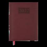 Ежедневник датированный 2022 Buromax GENTLE А5 бордовый 336 с (BM.2109-13)