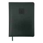 Ежедневник датированный 2021 Buromax Bravo (Soft) А5 с обложкой из искусственной кожи 336 с. L2U Зеленый (BM.2112-04)