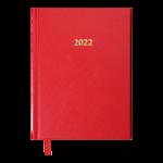 Ежедневник датированный 2021 Buromax Strong А5 336 с. L2U Красный (BM.2129-05)