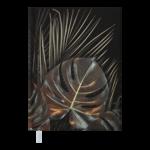 Ежедневник датированный 2022 Buromax LEAF А5 черный 336 с (BM.2157-01)